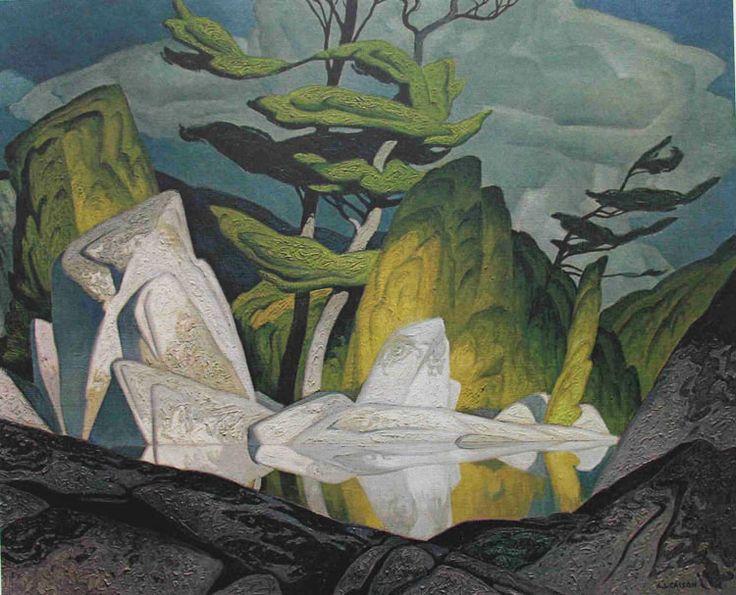 casson-rock-pool-cloche-hills-1959.jpg 750×607 pixel