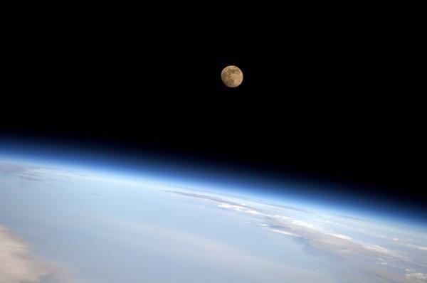 Accidentally saw a nice moonrise. September 7, 2014