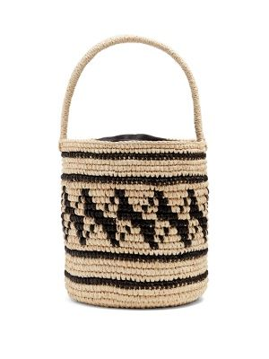 Geometric-woven toquilla-straw basket bag | Sensi Studio | MATCHESFASHION.COM UK