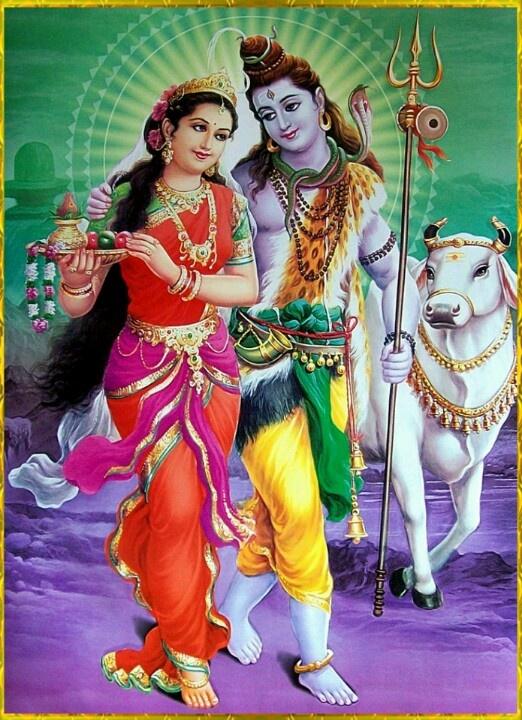 Parvati Shiva Dreaming