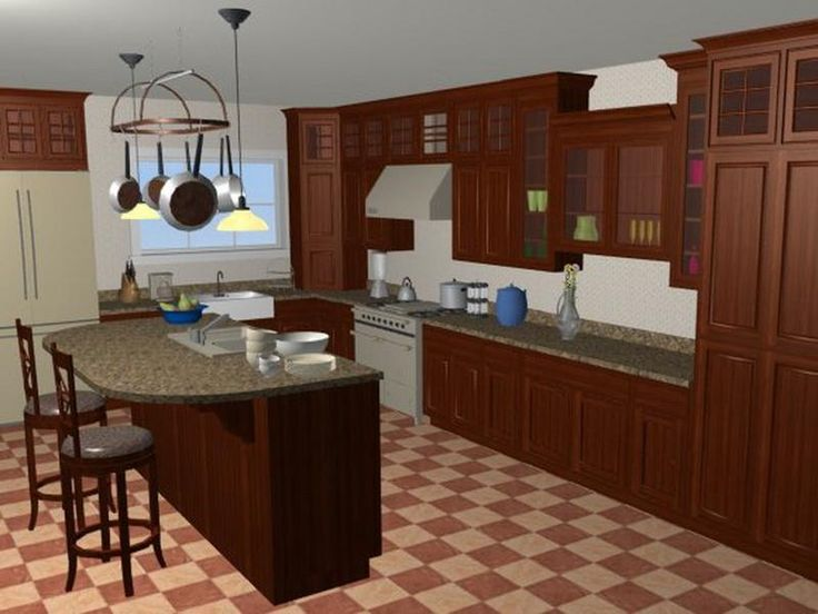 90 best images about kitchen on pinterest vintage style for Kitchen configurations