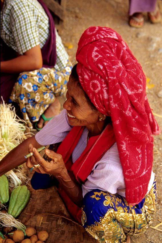 Pindaya: il mercato