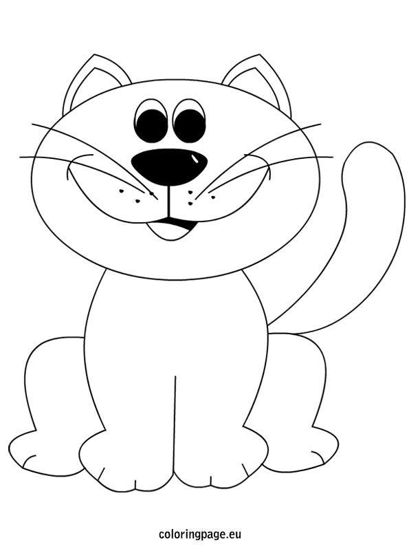 cat-színező-oldal