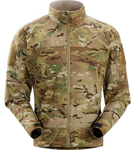 Combat Jacket MultiCam Men's Non-insulated, this BDU alternative is our lightest weight softshell that dries quickly and breathes well during exertion.