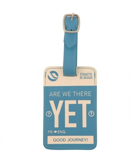 Flight 001, Are We There Yet Luggage Tag, $18, Shop 6, Level 2, QVB.