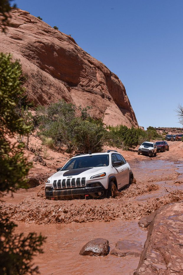 Jeep Cherokee Trailhawk June, 2015_Moab, UT