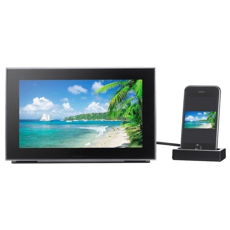 Panasonic MW-20 iPhone/ iPod Audio System Dock with 9-inch Digital Photo Frame