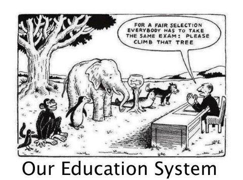 Our Unfair education system