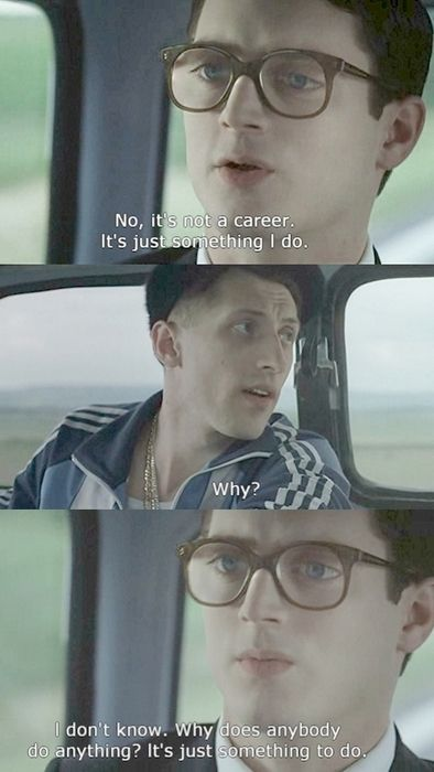 Everything Is Illuminated; one of my favorite movie quotes ever!!