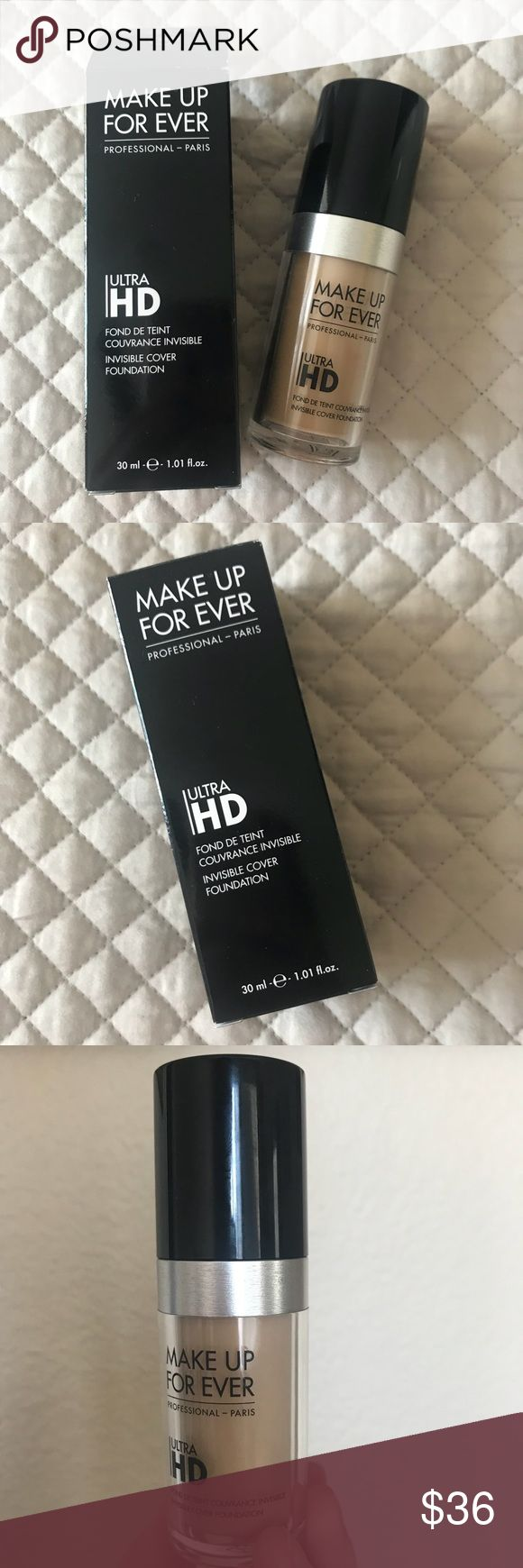 MUFE ultra HD invisible cover foundation Y225 Fabulous
