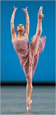 New York City Ballet's Sara Mearns. Photo by Paul Kolnik.