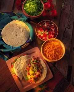 Taco Bar for your Superbowl party.