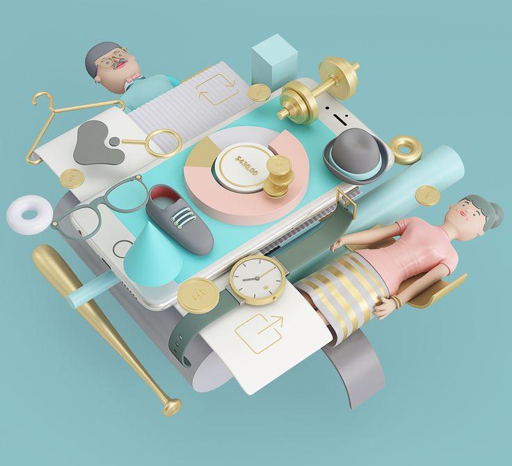 Best Artwork D Images On Pinterest D Design D Artwork - Amazing 3d artwork dani aristizabal