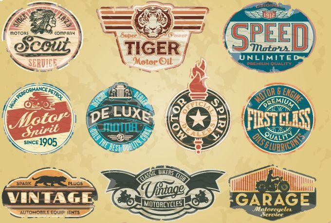 Create A Vintage Logo Retro Logos Vintage Logo Garage Logo