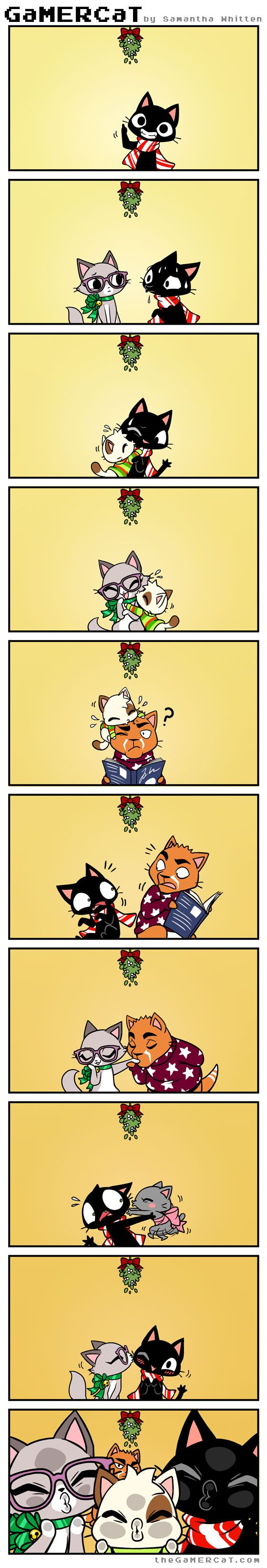 Mistletoe Mayhem I love these comics so much. lightens my day every time i see one