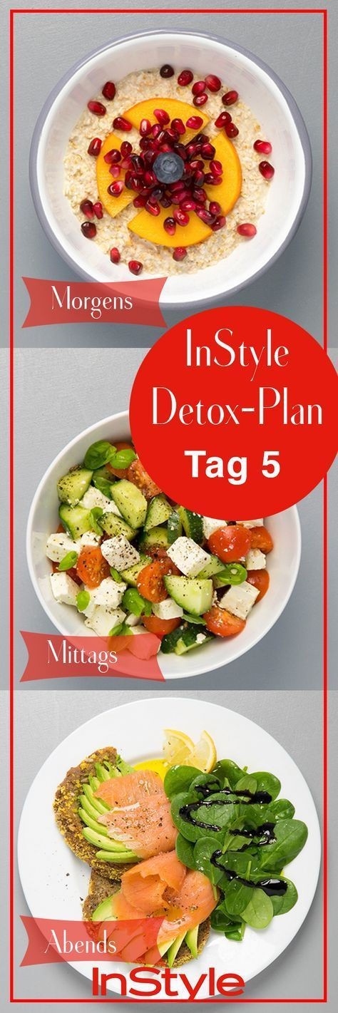 7 Days Detox Plan: Delicious, healthy and super easy!