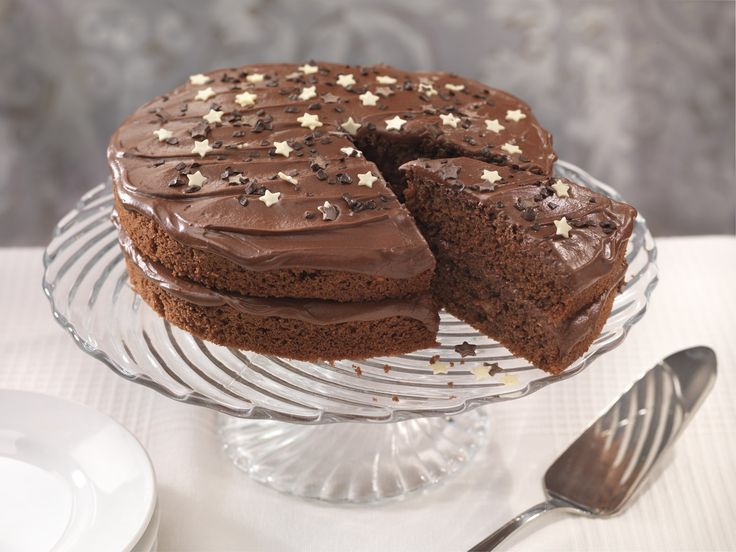 Squidgy Chocolate Fudge Cake