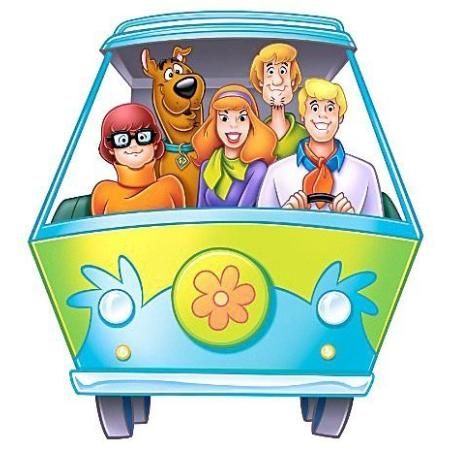 RoomMates Scooby Doo Mystery Machine Wall Poster