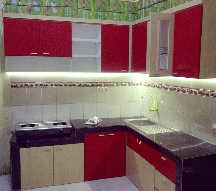 11 best jasa buat lemari dapur gantung images on pinterest for Harga kitchen set sederhana
