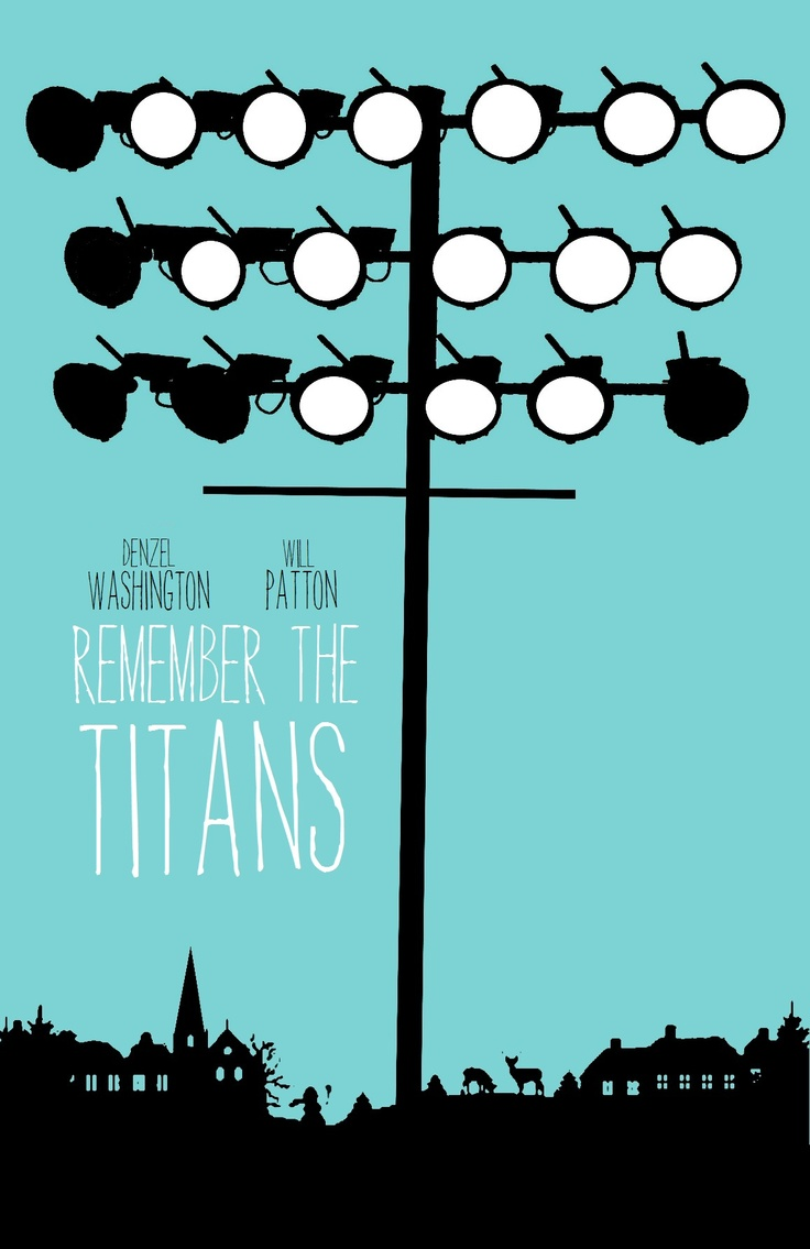 remember the titans film essay Remember the titans question 1 1 define leadership who in your opinion shows the greatest amount of leadership in the movie, coach boone, julius or gary.