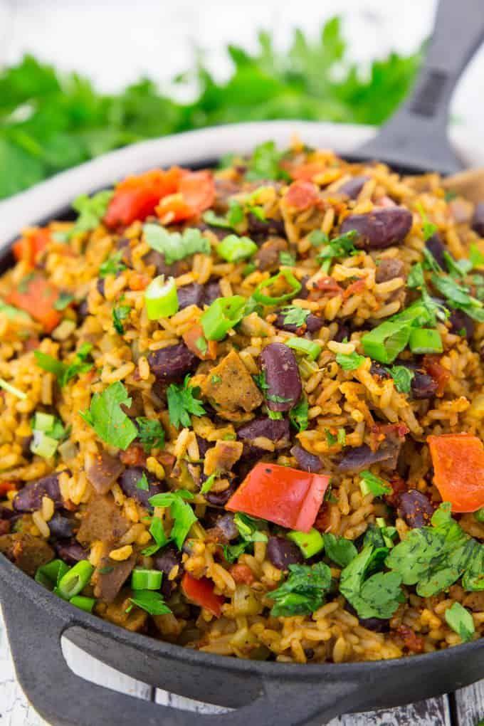Jambalaya Reisgericht Aus Louisiana Rezept Einfache Gerichte Reisgerichte Und Jambalaya