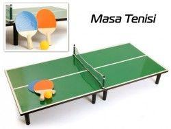 - Minyatür Masa Tenisi