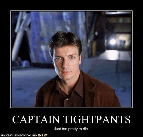 Firefly Captain Tightpants (Mal Reynolds)