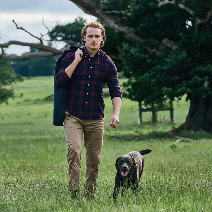 Discover this season's Shirt Department selection, as worn by British Actor and star of Outlander Sam Heughan.
