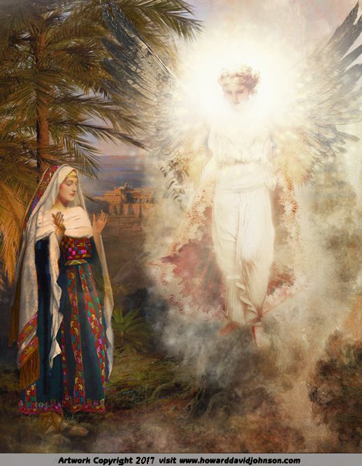 biblical paintings angels - photo #25