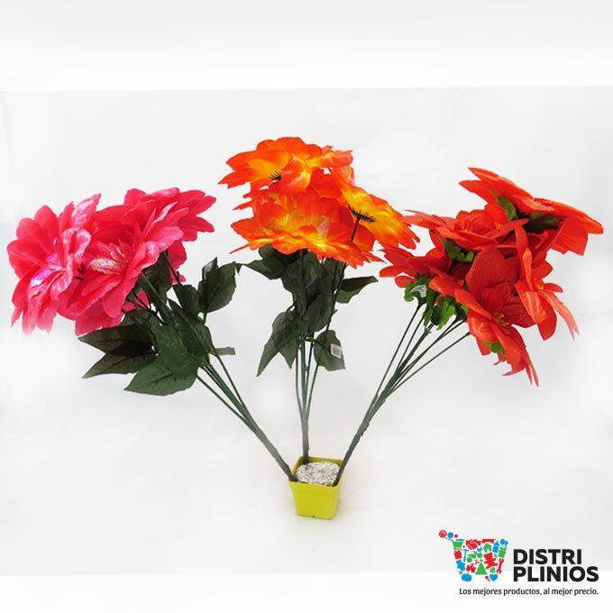 Hermoso ramo de rosas grandes por 7 unidades y vienen en diferentes colores rosado, rojo y naranja con amarillo, ideal para toda ocasión. Venta mínimo una docena, se puede vender la docena surtida en colores. Los precios de nuestro sitio web son al por mayor, el costo de los productos se incrementa en compras por unidad, cualquier inquietud comuníquese al 320 3083208 o al 3423674 o visítenos en la Calle 12 B # 8a – 03 Centro, Bogotá, Colombia.