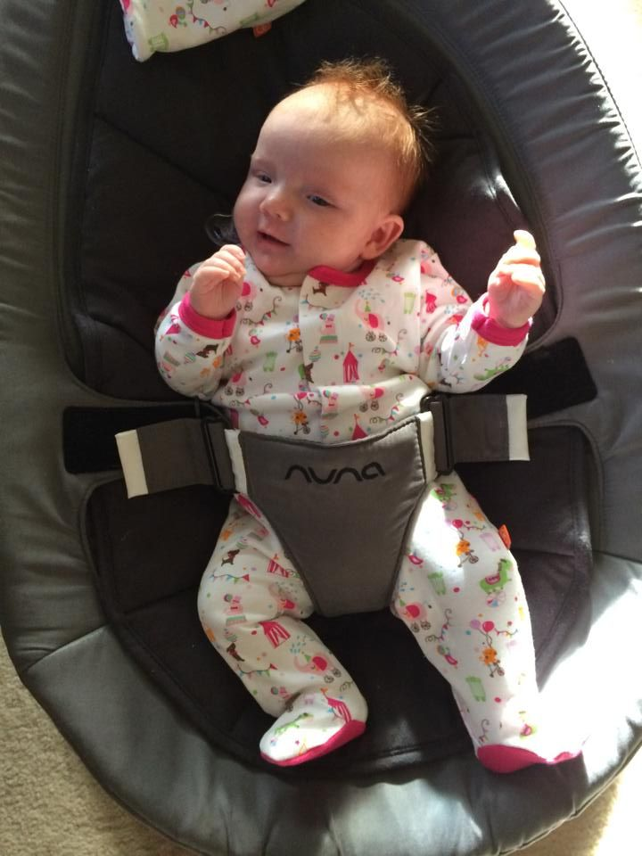 Meet gorgeous Evie lounging in her Magnificent Baby Footie