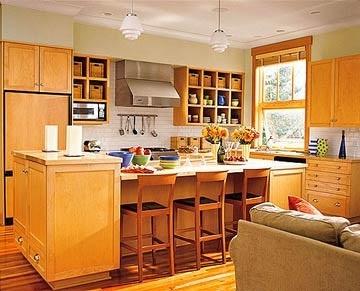 Decoracion cocinas integrales peque as interior de la - Cocinas rusticas modernas ...