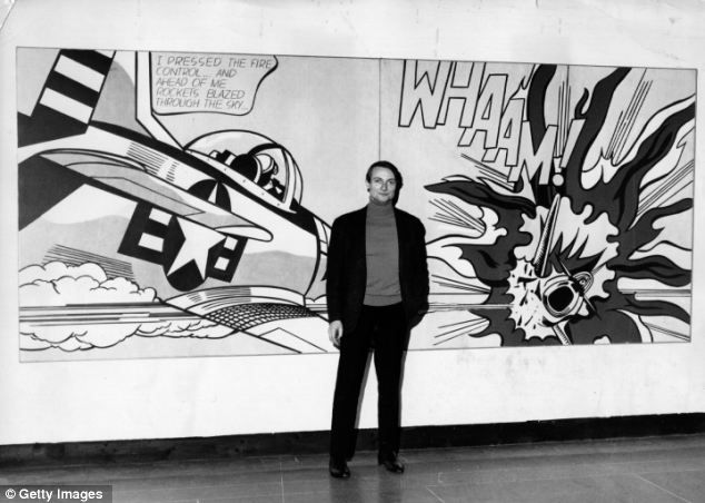 Roy Lichtenstein painting sells for record £27m at Christie's ...
