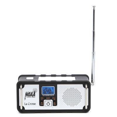 La Crosse Technology AM / FM Severe Weather Alert Radio