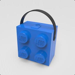 Smarte LEGO madkasser med hank. LEGO madkasserne er rummelige, nemme at åbne og kan bestemt også bruges til andet end frokosten, kun fantasien sætter grænser.
