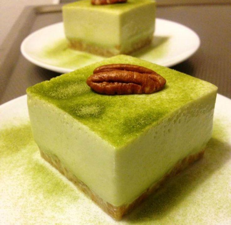 Groene thee mousse cakejes | Ramadanrecepten.nl