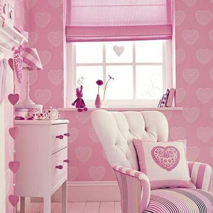Sweet+Hearts++-+børnetapet