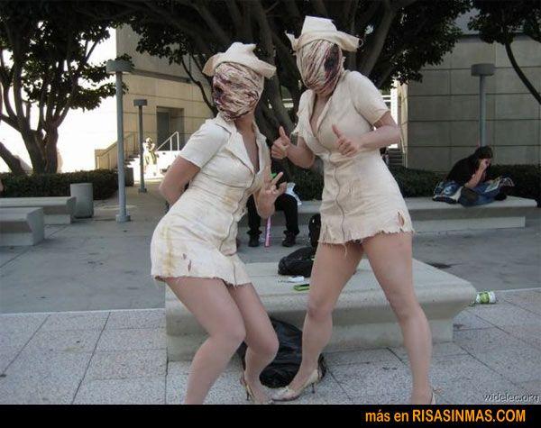Disfraz de enfermera de Silent Hill | Risa Sin Más