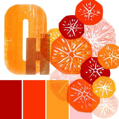 10⎥15 moodboard aureliedhuit.com #moodboard #tendance #October #octobre #inspiration #design #graphic #graphisme #fruits #orange #oh #illustration #texture #red #rouge #bordeaux #rosel #pink  #colors #couleurs
