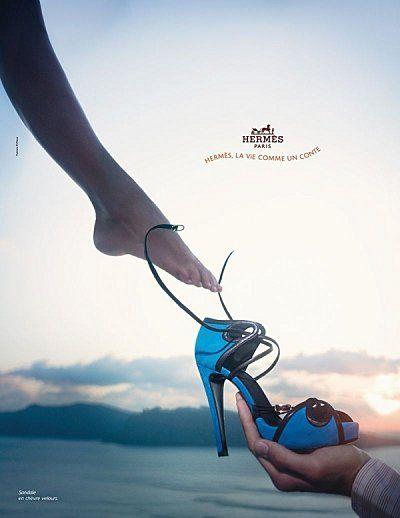 Hermès #shoes #blue