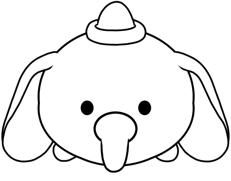 Tsum Tsum Coloring Pages 6: 9 Best COLOREAR - CHICOS Images On Pinterest