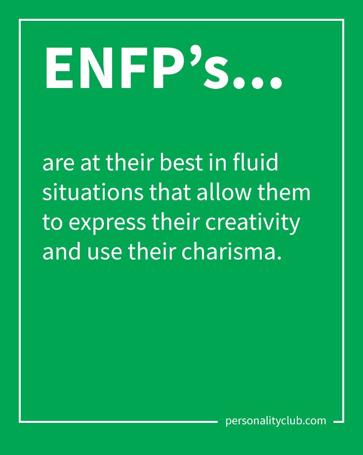 Myers briggs personality enfp
