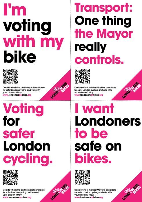 Londoners on Bikes Spoke Cards