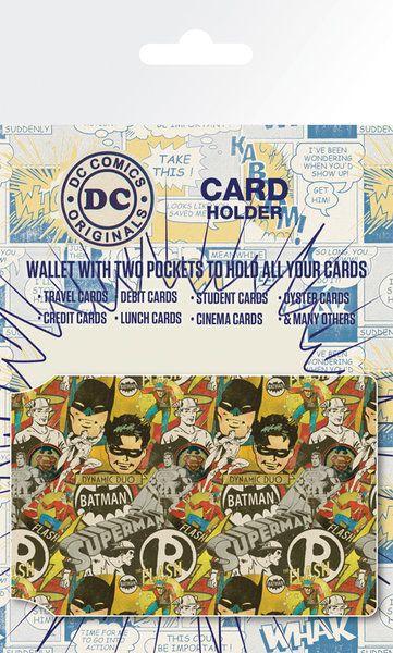 DC+Comics+Bohaterowie+Retro+-+Okładki+na+Dokumenty+i+Karty