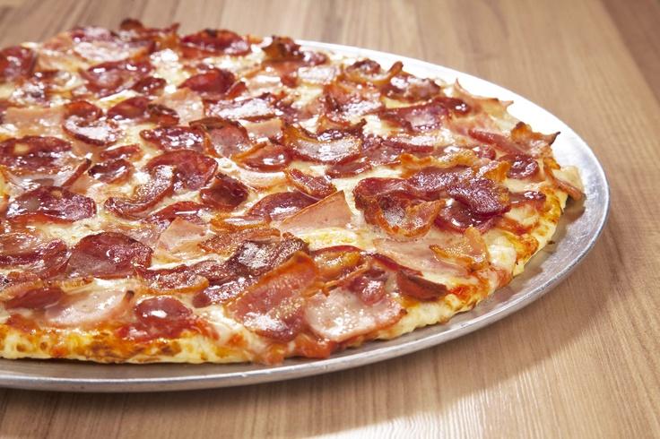 Pizza de Carnes y Tocineta