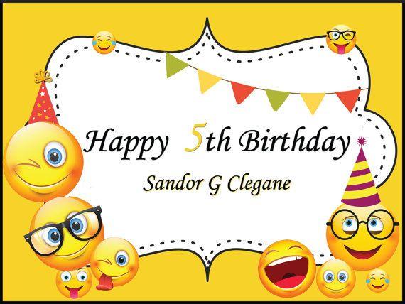 1000 Ideas About Happy Birthday Emoji On Pinterest
