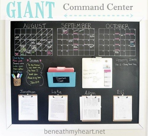 giant command center