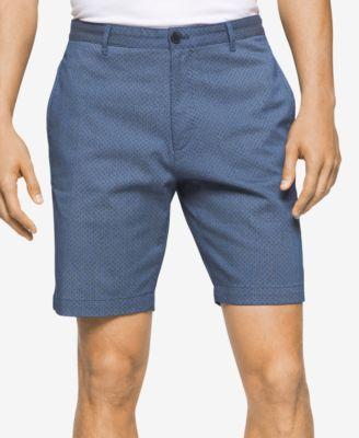 """CALVIN KLEIN Calvin Klein Men'S Stripe Slim-Fit """"9 Shorts. #calvinklein #cloth # shorts"""