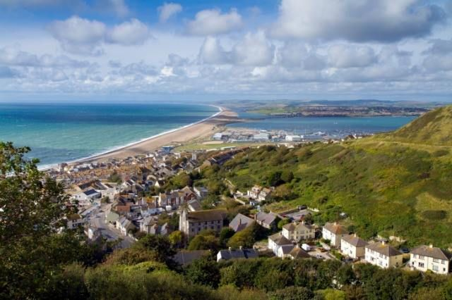 Portland Chesil beach and Weymouth Dorset