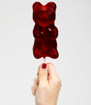 Giant Gummi Bear on a Stick | Shop Stocking Stuffers Now | Giant Gummy Bear - StyleSays